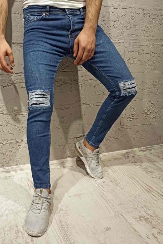 Jeans Homme Bleu jean Invictus Paris 1558-1 eFashion Paris