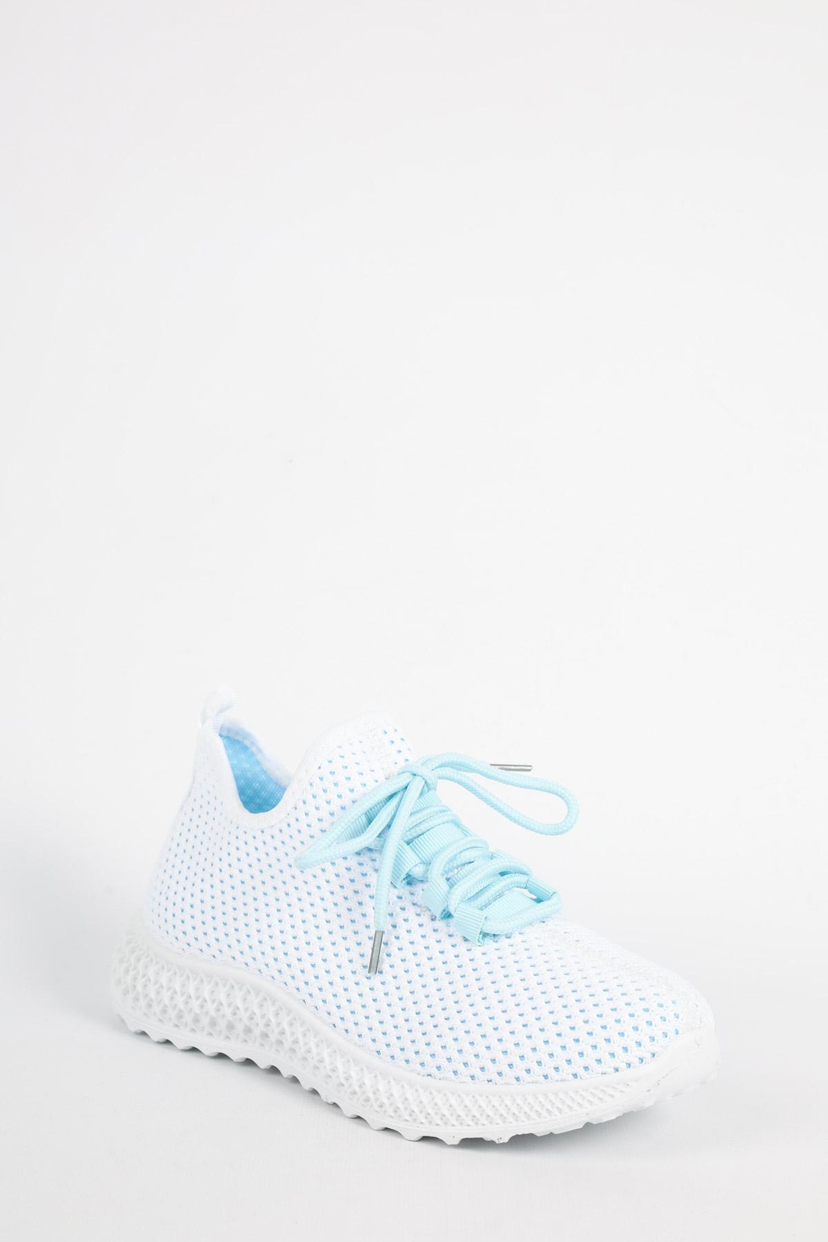 Baskets Chaussures Bleu LOV'IT GG532 #c eFashion Paris