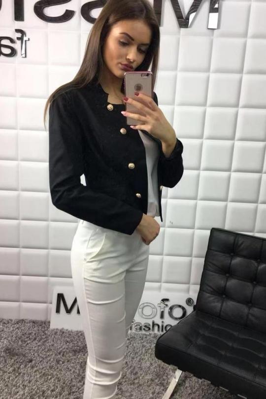 Vestes  Femme Noir MAGNOLIA H8876 eFashion Paris