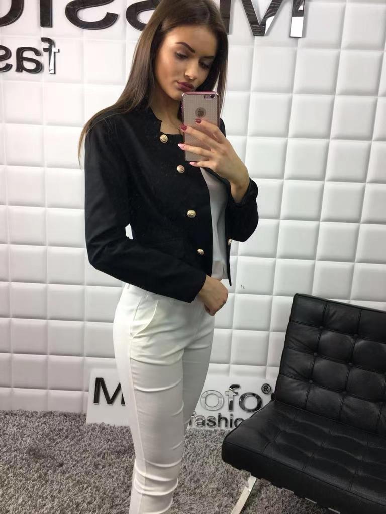 Vestes  Femme Noir MAGNOLIA H8876 #c eFashion Paris