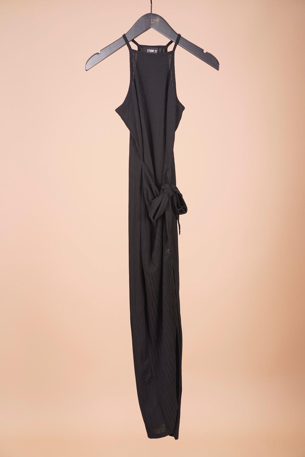 Robes longues Femme Noir IN APRIL 1986 F148 #c eFashion Paris