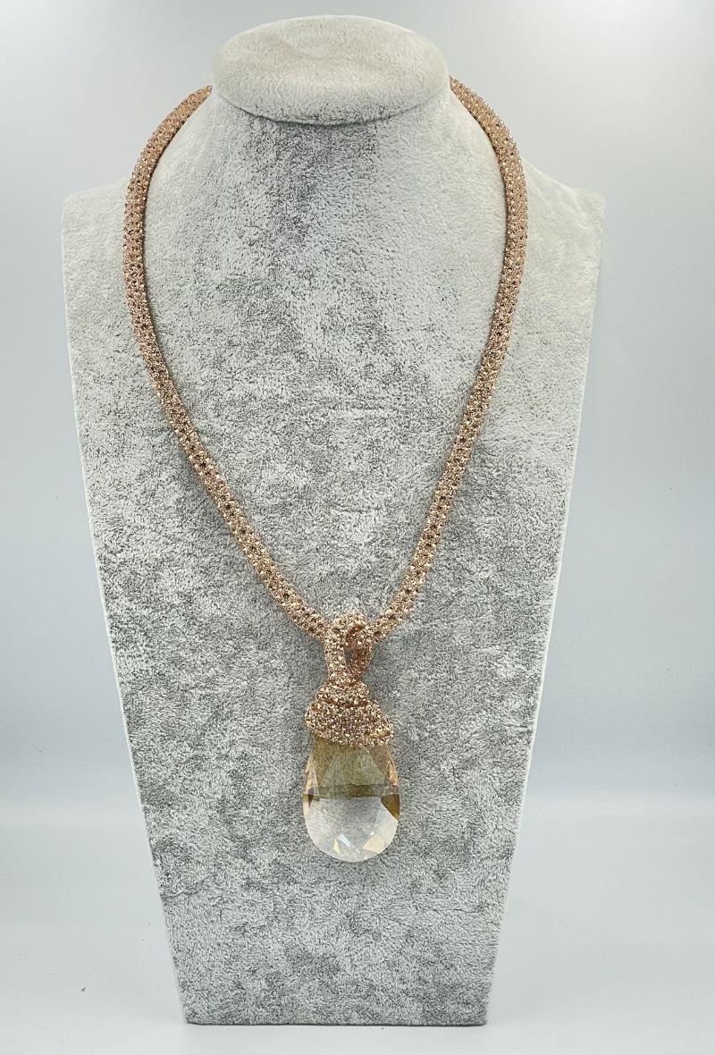 Colliers Accessoires Beige D Bijoux CO1 #c eFashion Paris