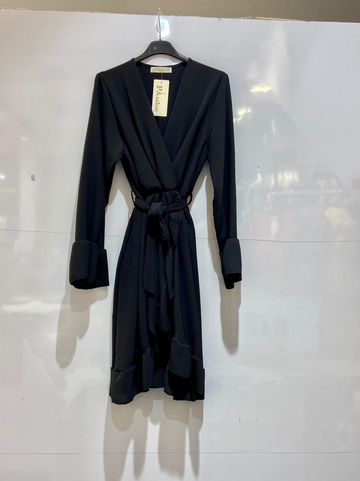 Robes mi-longues Femme Noir NEW PASSION A177 #c eFashion Paris
