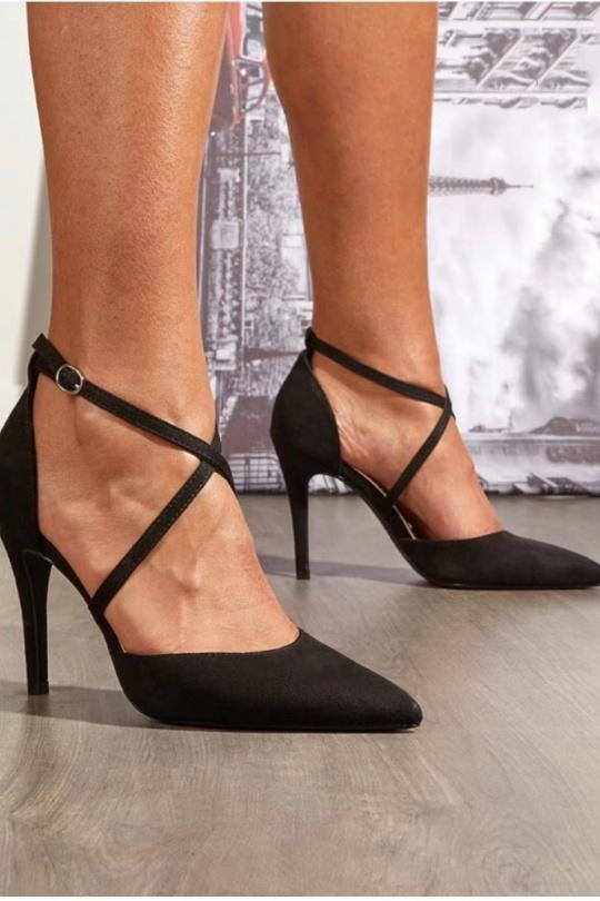 Escarpins Chaussures Noir VIVI RICH 550 eFashion Paris