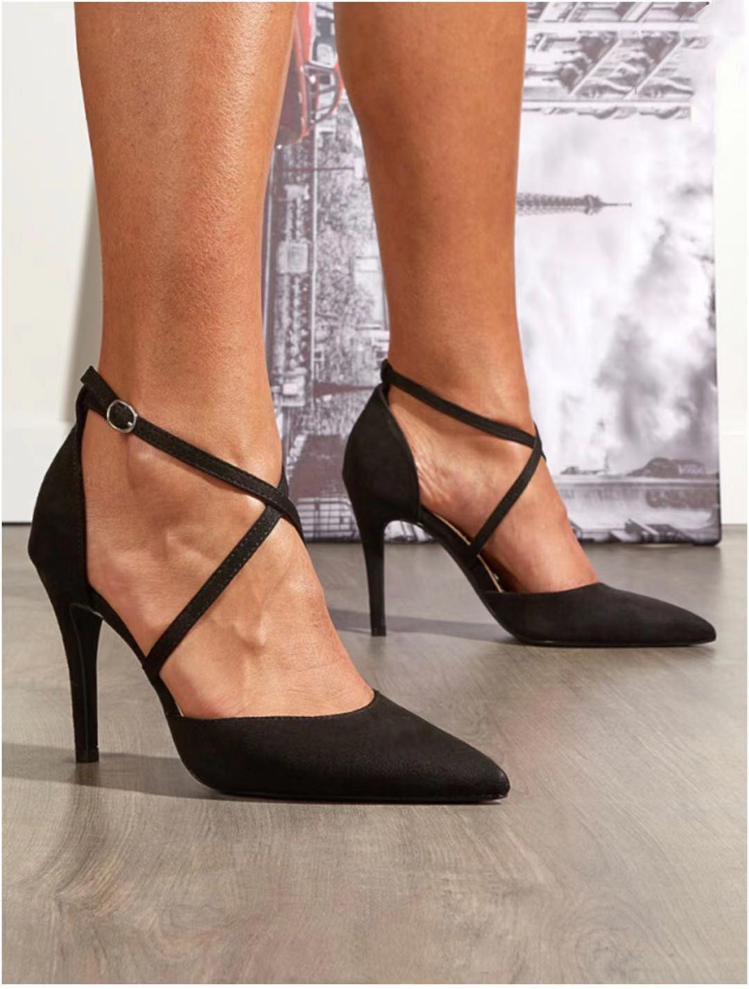 Escarpins Chaussures Noir VIVI RICH 550 #c eFashion Paris