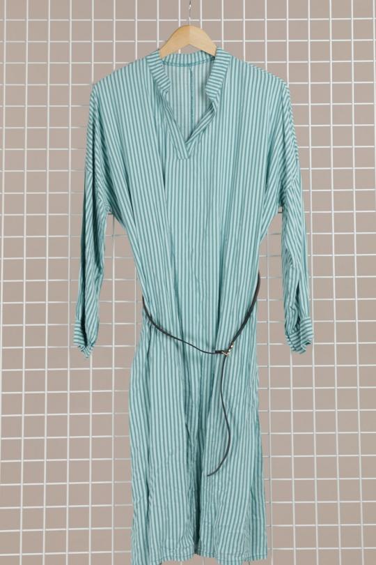 Robes longues Femme Vert d'eau CORALINE 9831 eFashion Paris