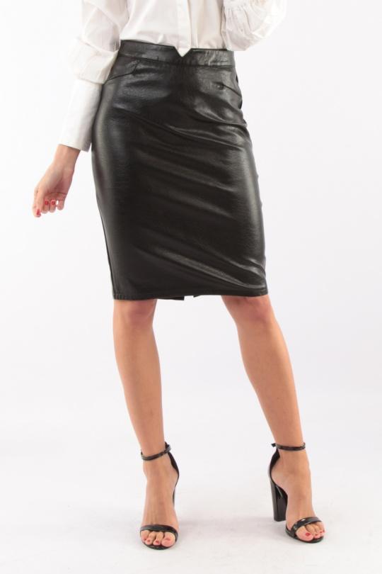 Faldas Mujer Black Lovita 259N  c eFashion Paris 17265f2b9812