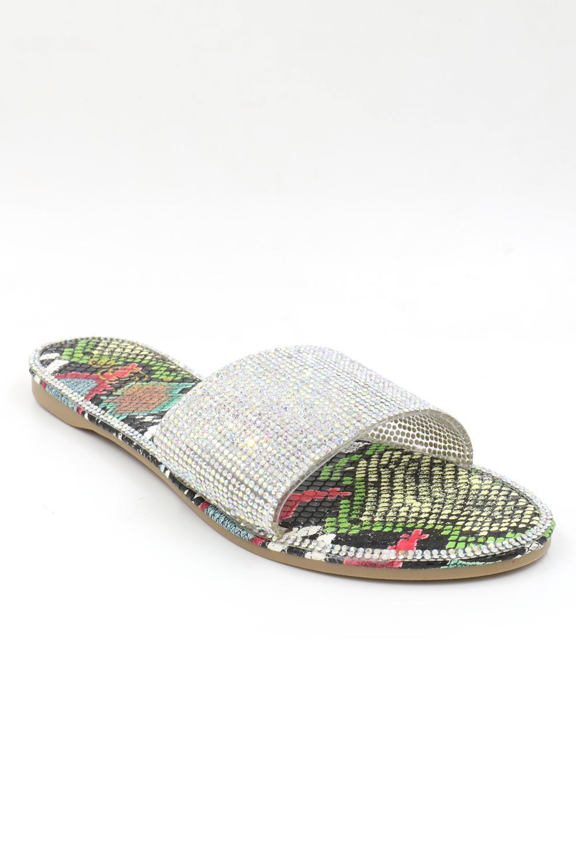 Sandales Chaussures Multicolore BEAUTY'S SEDUCTION BJ512MU #c Efashion Paris