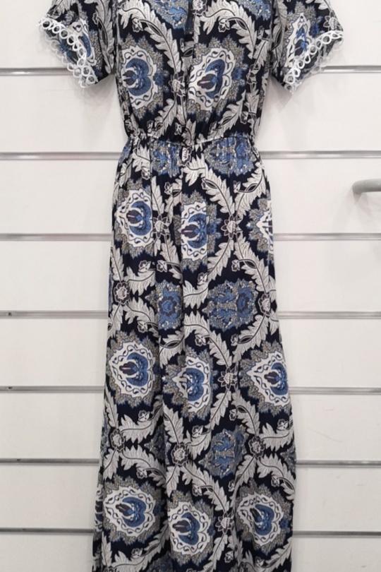 Robes longues Femme Couleurs mélangées FAFA DIFFUSION R106 ROBE LONGUE eFashion Paris