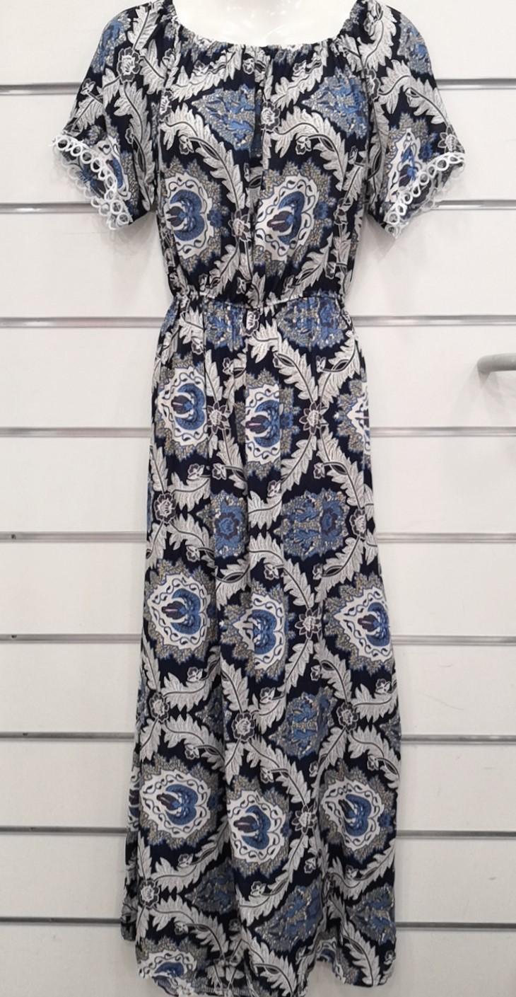 Robes longues Femme Couleurs mélangées FAFA DIFFUSION R106 ROBE LONGUE #c eFashion Paris
