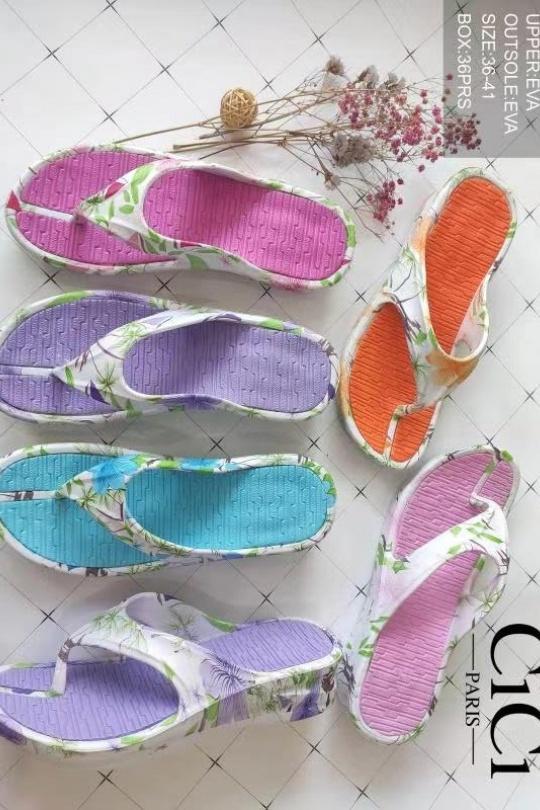 Sandales Chaussures Couleurs mélangées CICI MOD FM8042 eFashion Paris