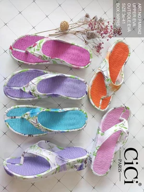 Sandales Chaussures Couleurs mélangées CICI MOD FM8042 #c eFashion Paris