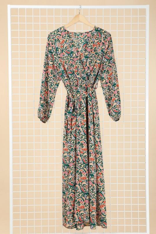 Robes longues Femme Vert YFASHION 2180C Efashion Paris