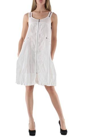 Robes courtes Femme Blanc C FAIT POUR VOUS 3480 eFashion Paris