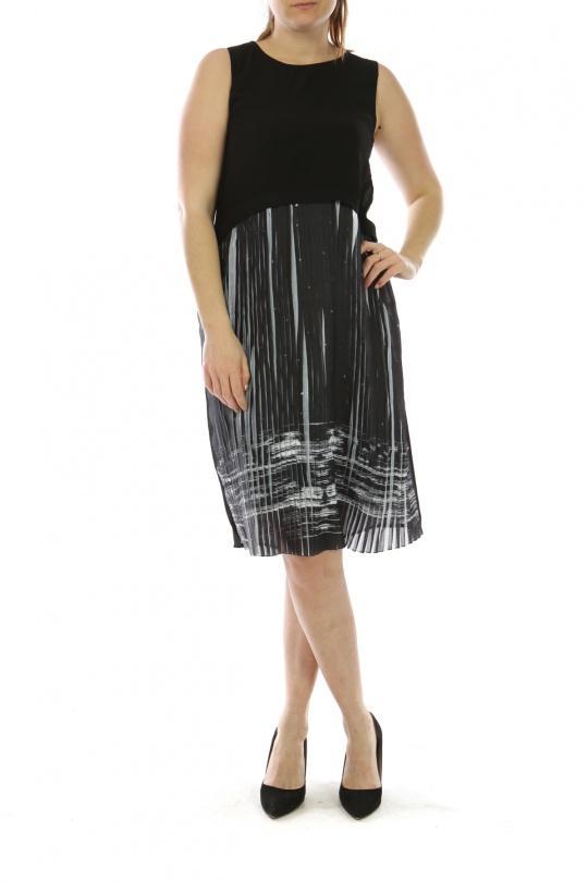 Robes Femme Noir C FAIT POUR VOUS Y5143 eFashion Paris