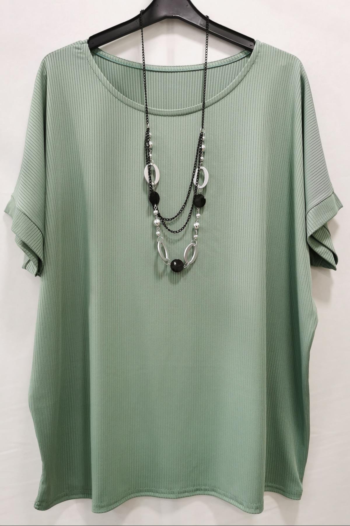 Blouses Femme Vert m s fashion 2101 #c Efashion Paris