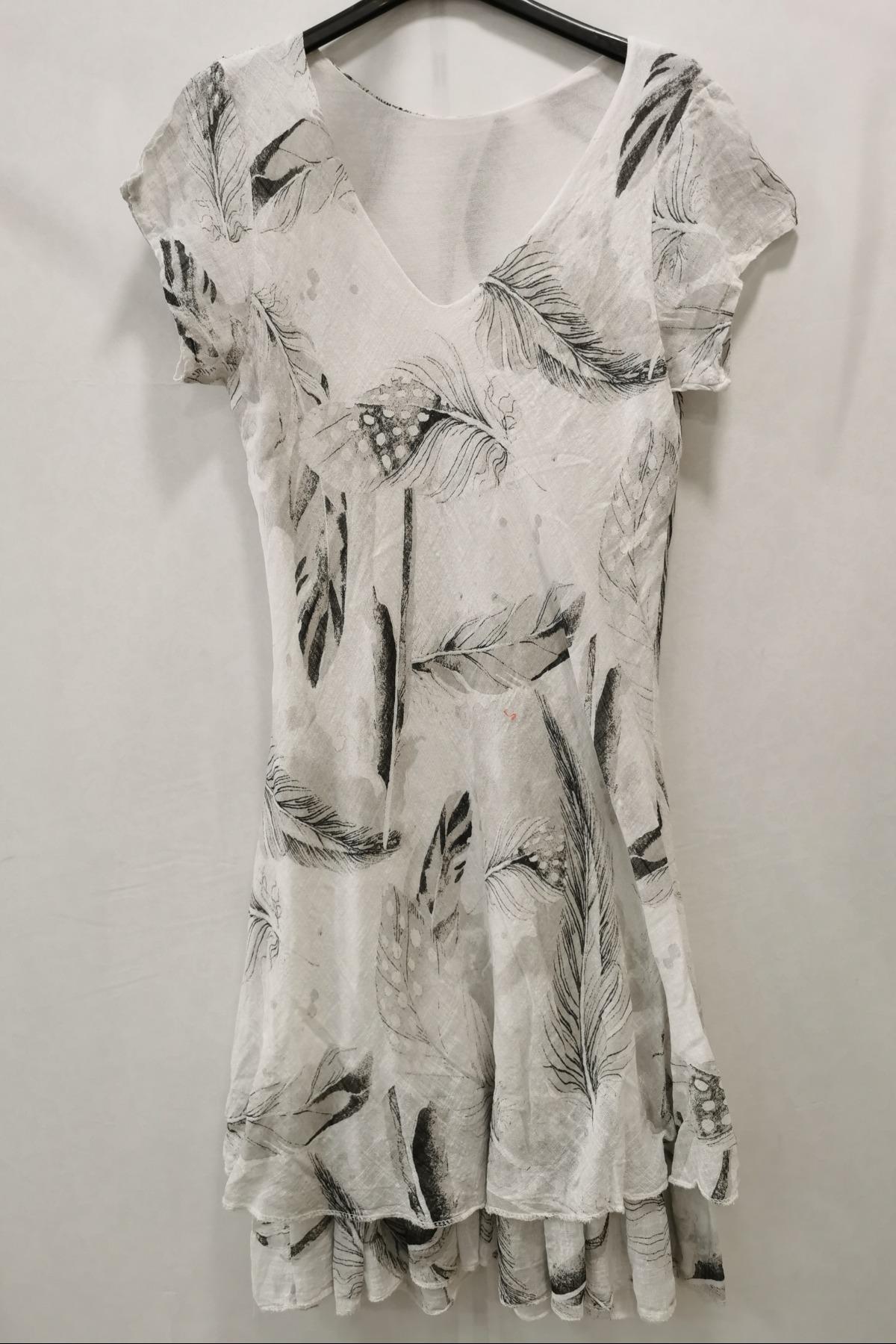 Robes longues Femme Blanc m s fashion 2109 #c eFashion Paris