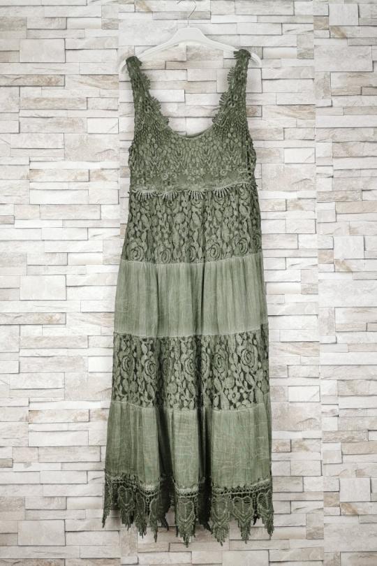 Robes longues Femme Kaki NEW SUNSHINE 2952 Efashion Paris