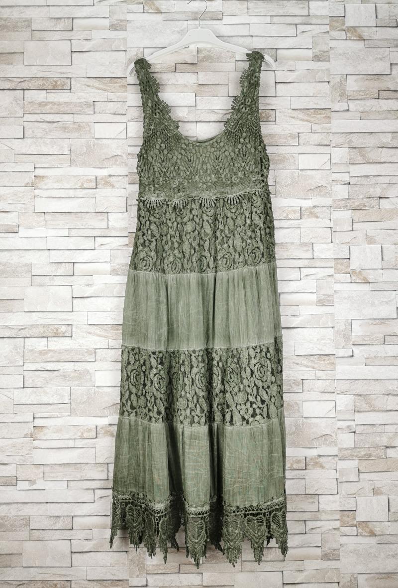 Robes longues Femme Kaki NEW SUNSHINE 2952 #c Efashion Paris