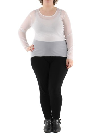 Tops Femme Blanc VETI STYLE 132 eFashion Paris