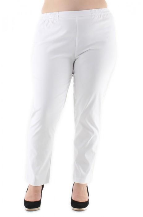 Pantalons Femme Blanc VETI STYLE 109 #c eFashion Paris