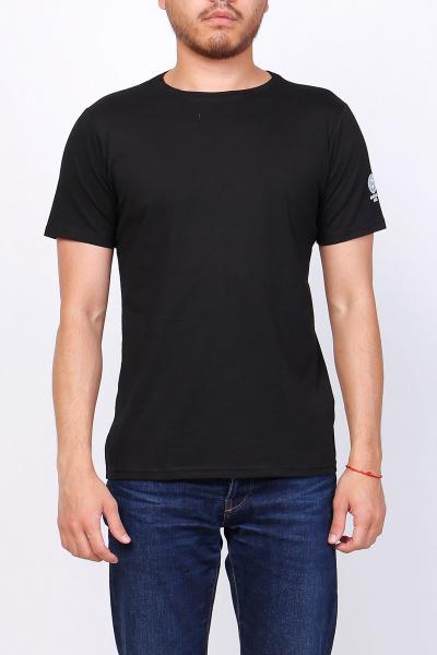T-shirts Homme Noir felerema S56 #c Efashion Paris