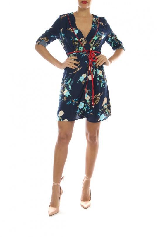 Tuniques Femme KL155-12#-MARINE Ki&Love anciennement RELAX