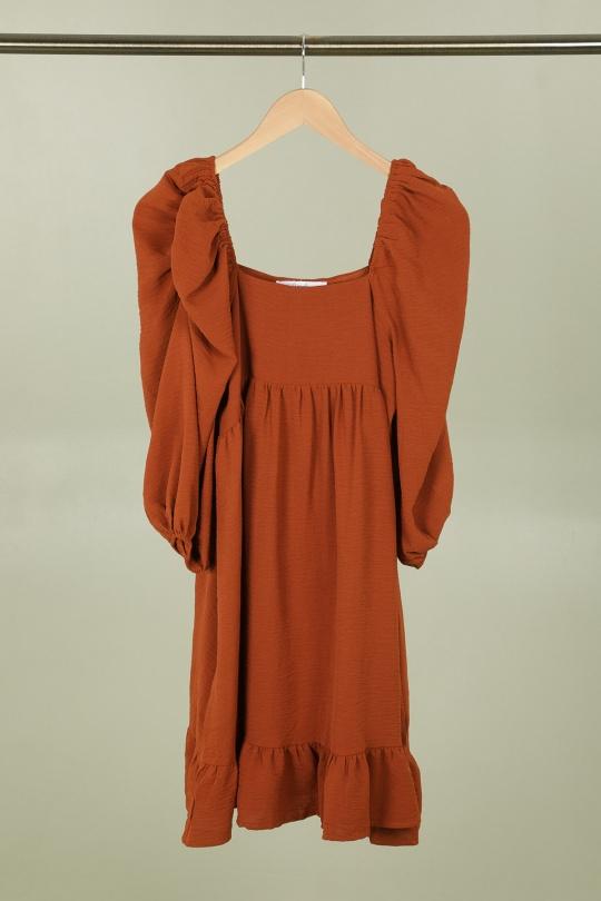Robes courtes Femme Camel CONTEMPLAY ML-2078 Efashion Paris