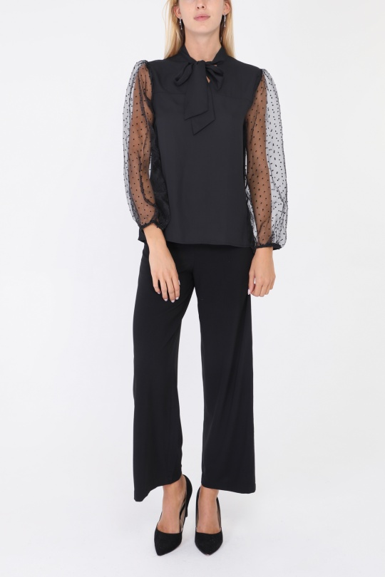 Blouses Femme Noir CONTEMPLAY A9135 eFashion Paris