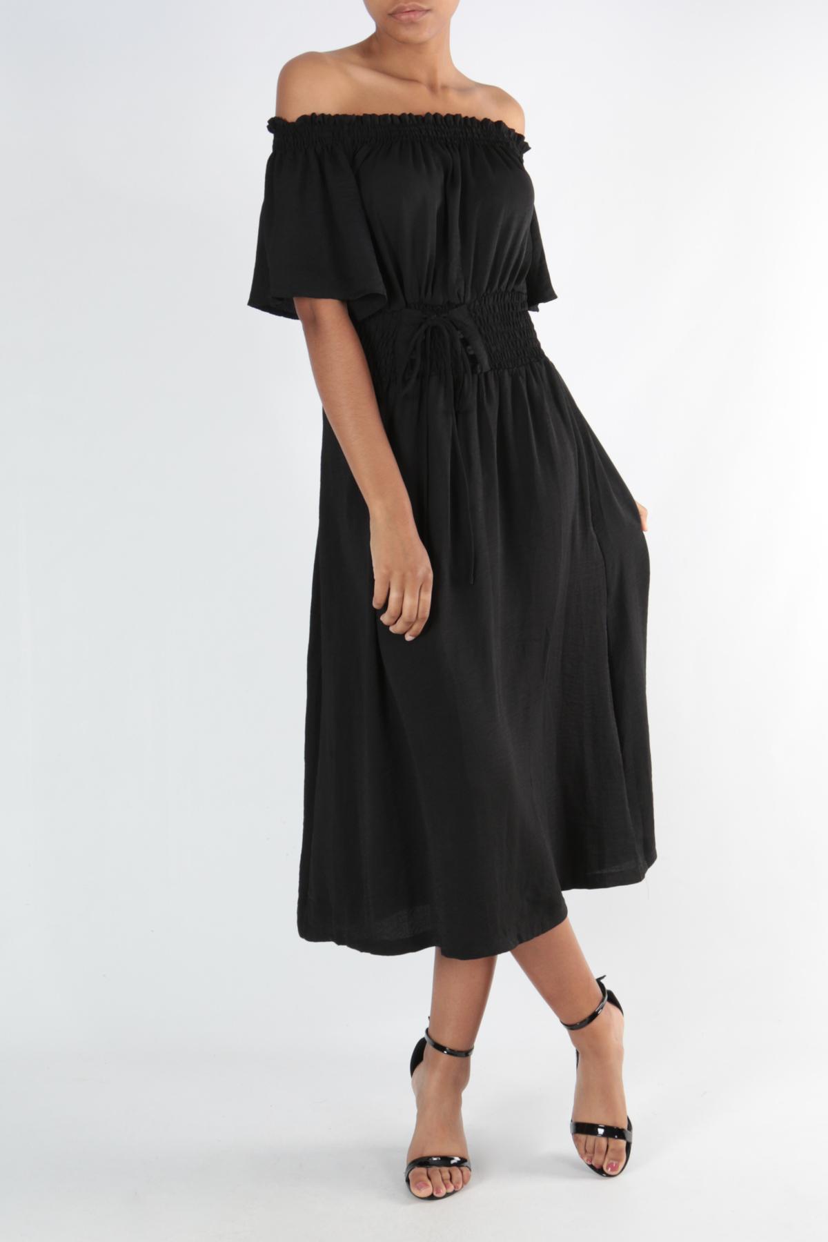 Robes longues Femme 6271-NOIR CONTEMPLAY