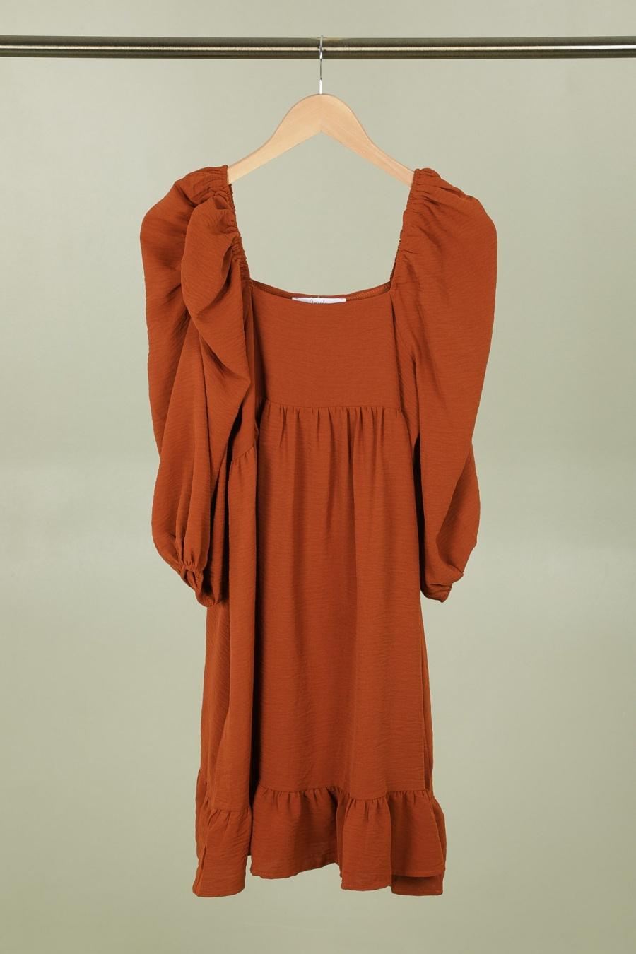 Robes courtes Femme Camel CONTEMPLAY ML-2078 #c Efashion Paris