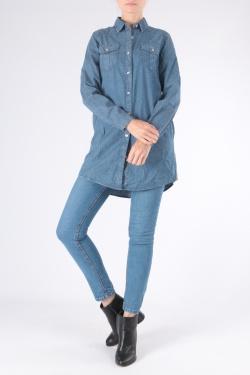 Chemises Femme A8180-BLEU JEAN C.DENIM by ZAC & ZOE