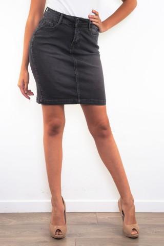 Jupes & Shorts Femme B2042-GRIS C.DENIM by ZAC & ZOE
