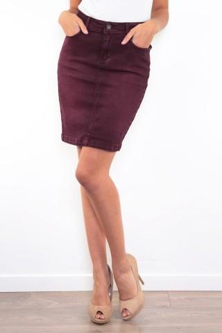 Jupes & Shorts Femme B2042-PRUNE C.DENIM by ZAC & ZOE