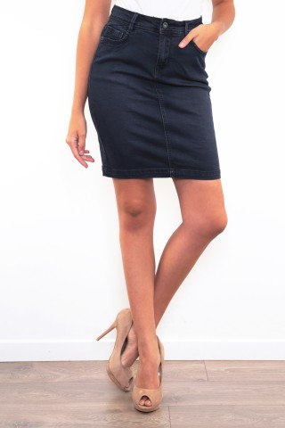 Jupes & Shorts Femme B2042-BLEU MARINE C.DENIM by ZAC & ZOE