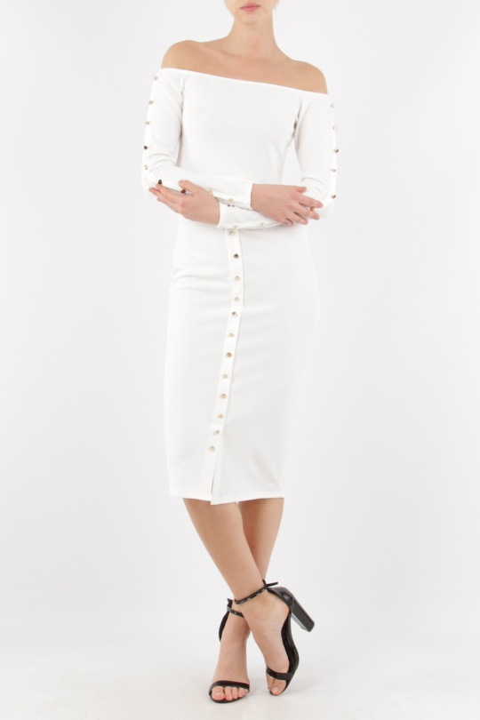 Ensembles Femme Blanc Adeline M3065+GO2250 c eFashion Paris