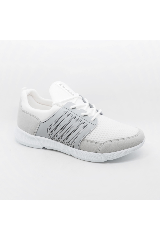 Baskets Chaussures Blanc Galax 105-03 #c Efashion Paris