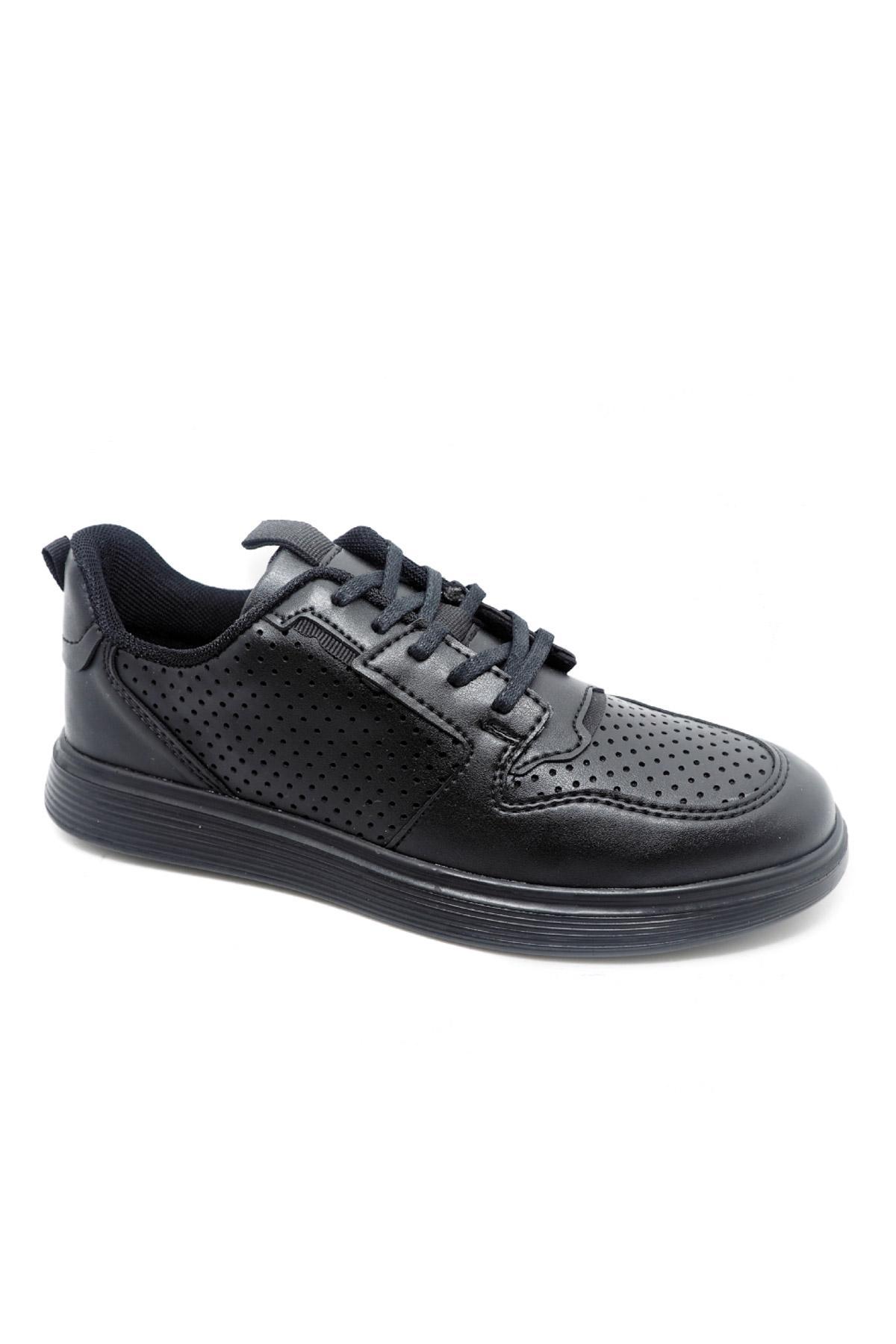 Baskets Chaussures Noir/noir Galax 948-04 #c Efashion Paris