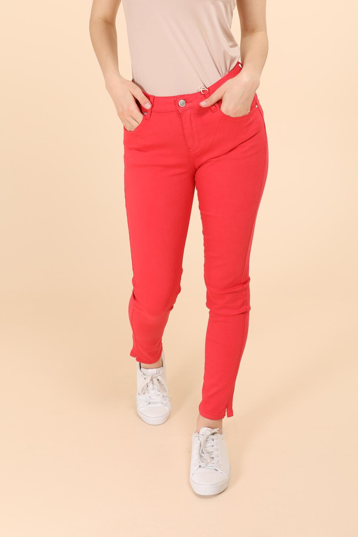 Pantalons Femme Rouge Onado H1103 #c eFashion Paris