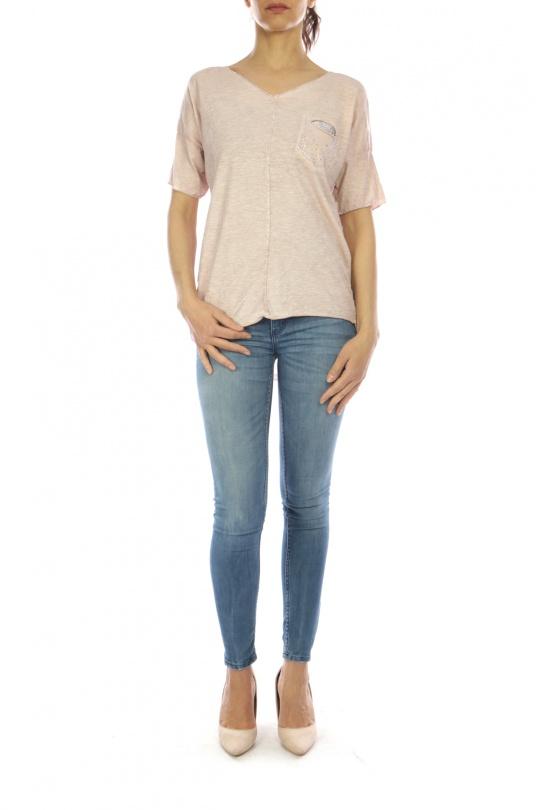 T-shirts Femme H25-ROSE CHANA MOD