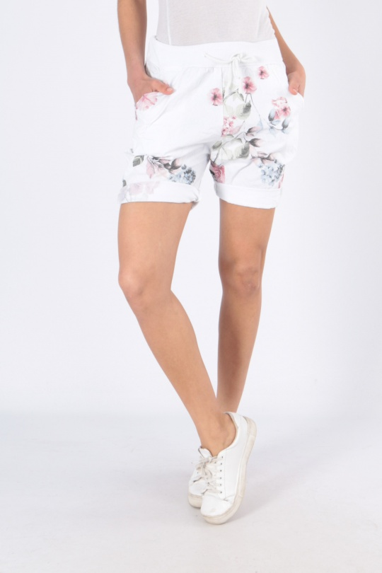 Shorts Femme PT16-BLANC CHANA MOD