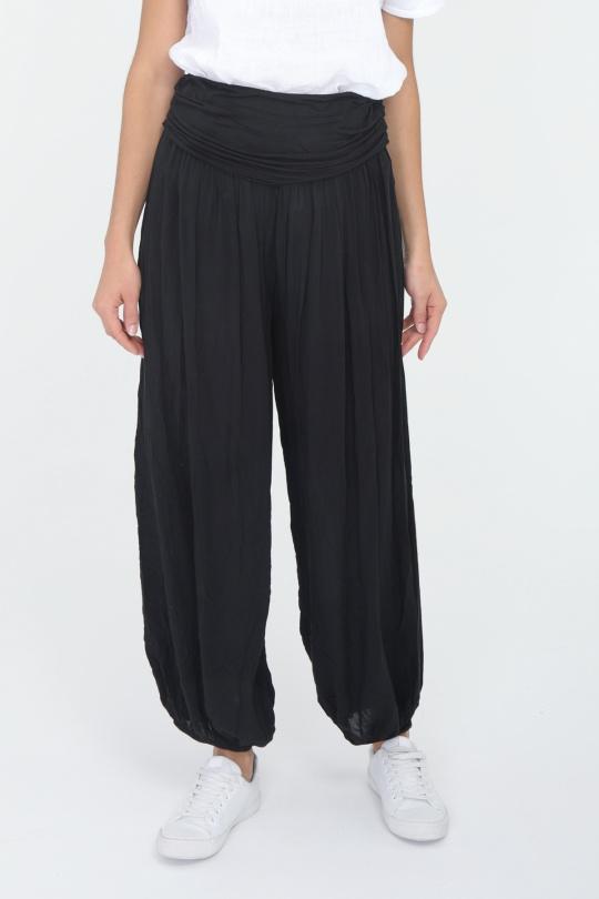 Pantalons Femme Noir CHANA MOD PT211 eFashion Paris