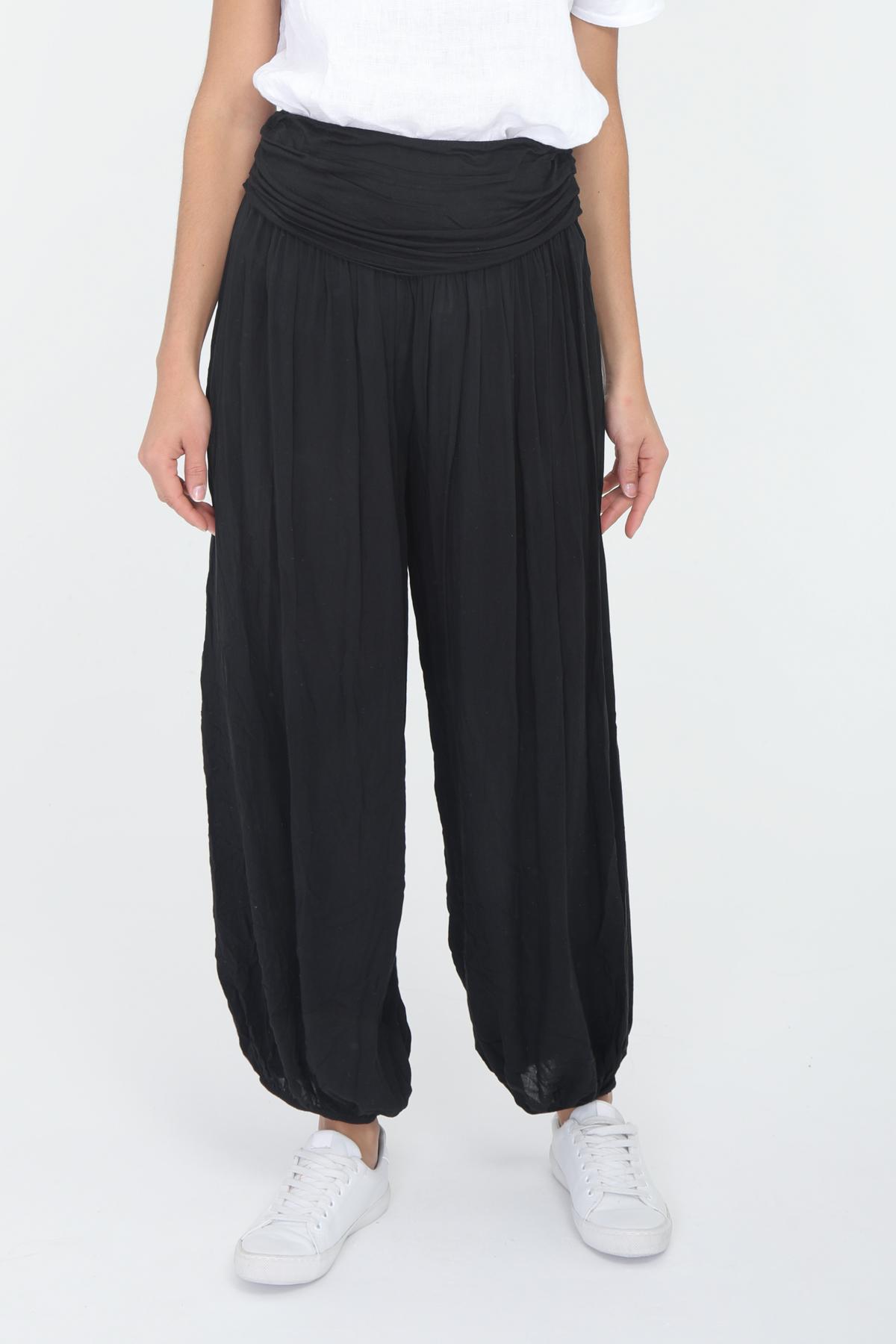 Pantalons Femme Noir CHANA MOD PT211 #c eFashion Paris