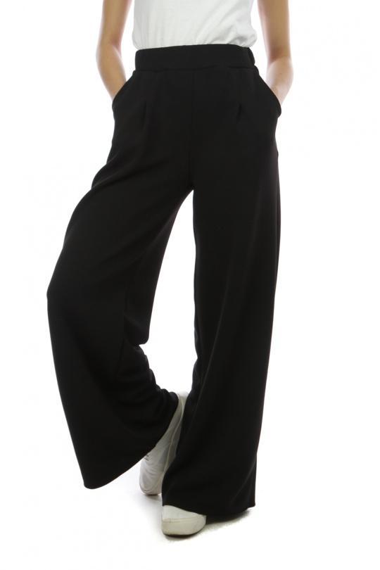 Pantalons Femme 7713-NOIR SILVER FASHION