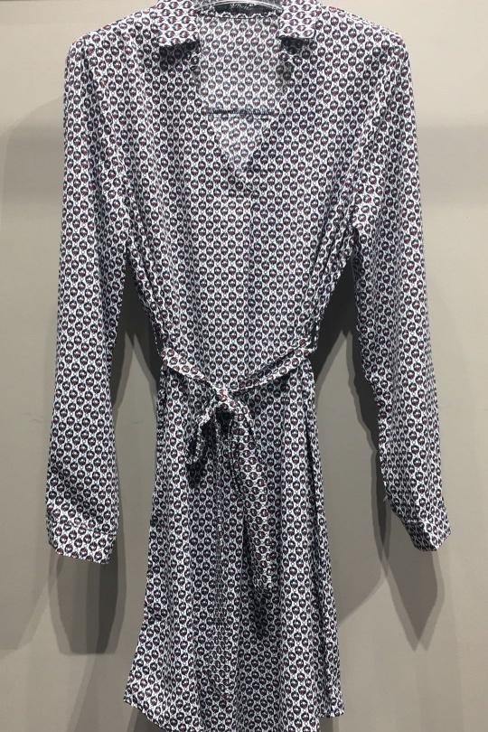 Chemises Femme Blanc AC Belle 7011TL eFashion Paris