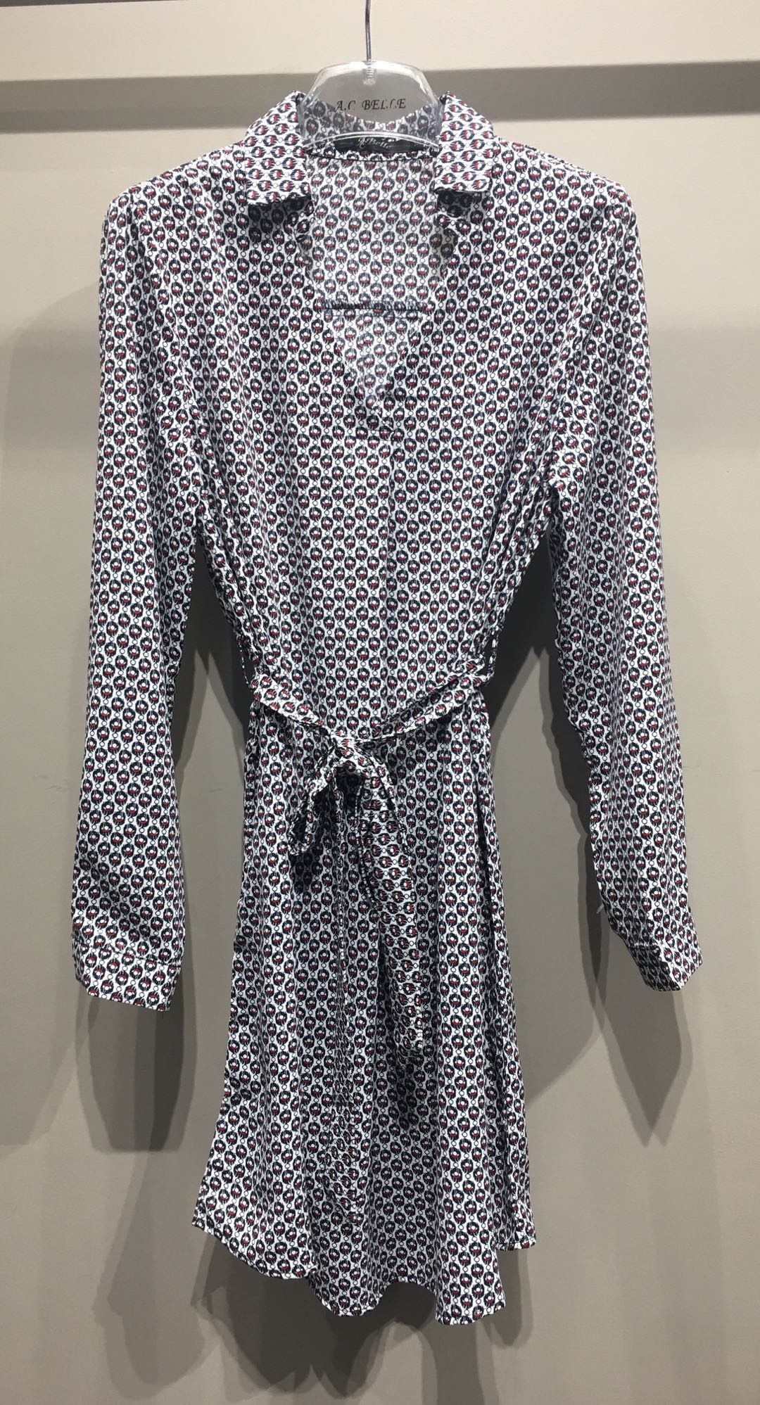 Chemises Femme Blanc AC Belle 7011TL #c eFashion Paris