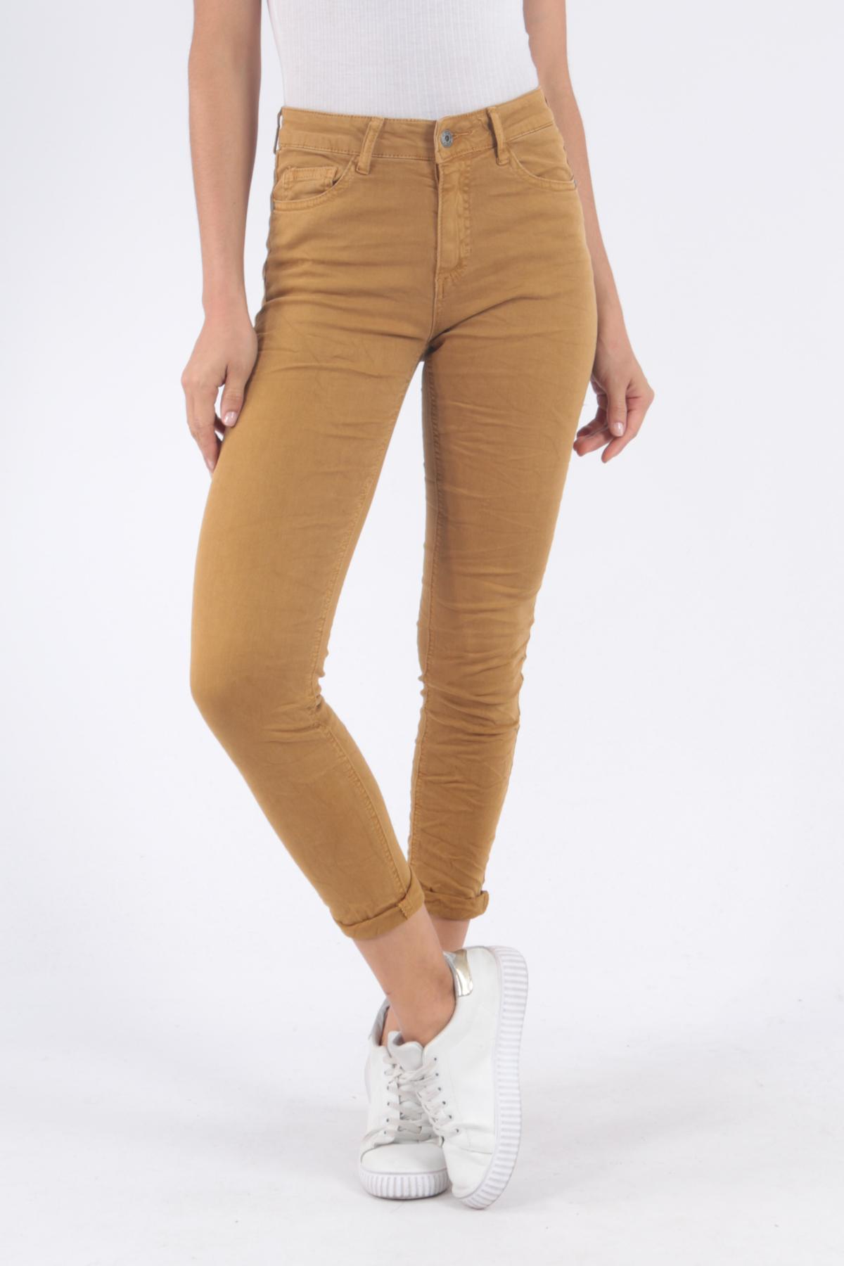 Pantalons Femme 8170-SAFRAN Areline Diffuse Melly & Co / Garline