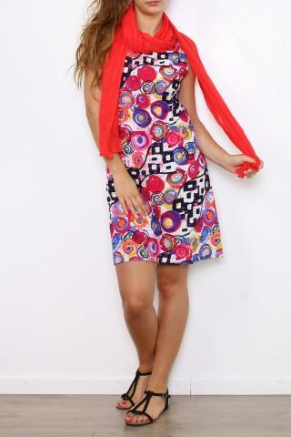 Robes longues Femme 2607-FUSHIA For Her Paris (SHINIE)