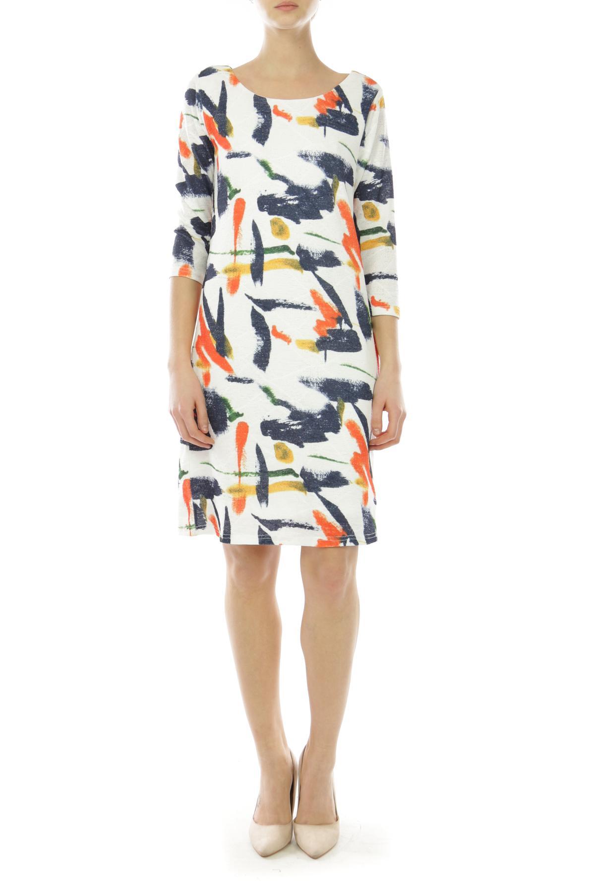 Robes longues Femme 2666-ORANGE For Her Paris (SHINIE)
