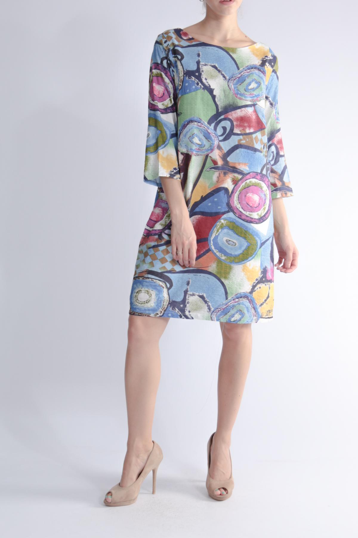 Robes courtes Femme 8620-BLEU For Her Paris (SHINIE)